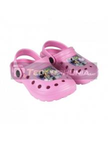 Zuecos niña Minnie Mouse - Unicornio rosa Talla 30 - 31