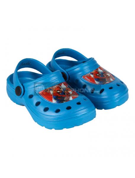 Zuecos infantil Spiderman azul Talla 26 - 27