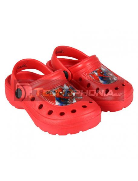 Zuecos infantil Spider-man rojo Talla 26 - 27