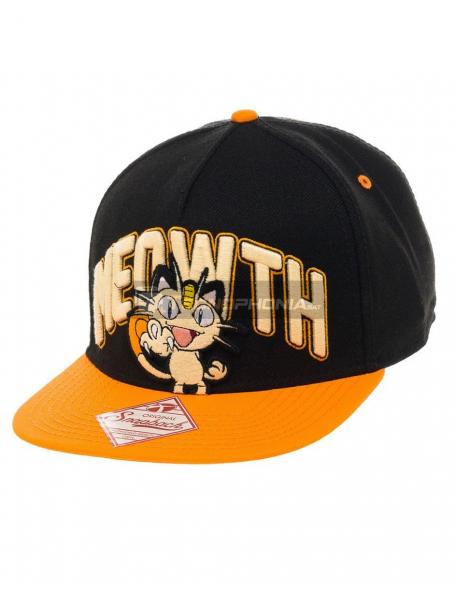Gorra bordado 3D Pokemon - Meowth