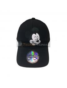 Gorra Diseño Mickey Negra