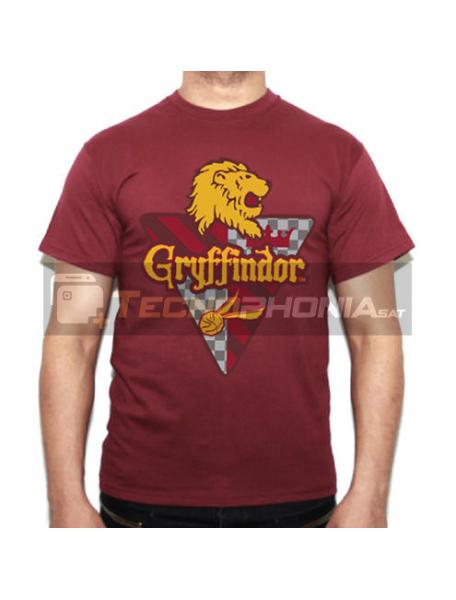 Camiseta adulto Harry Potter - Gryffindor Talla S
