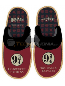 Zapatilla con suela adulto de Harry Potter Talla 42 - 43