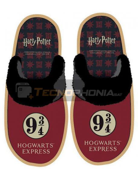 Zapatilla con suela adulto de Harry Potter Talla 44 - 45