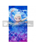 Toalla microfibra de playa Frozen - Elsa