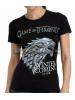 Camiseta adulto chica Juego De Tronos 'Stark' Talla S