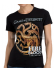 Camiseta adulto chica Juego De Tronos 'Targaryen' Talla XL