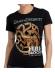 Camiseta adulto chica Juego De Tronos 'Targaryen' Talla L