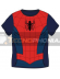 Camiseta infantil manga corta de Spider-man Talla 6
