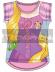 Camiseta algodon full print de Princesas - Rapunzel Talla 2