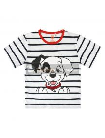 Camiseta algodón premium de Clasicos Disney 101 Dalmatas Talla 4 - 5
