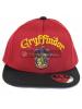 Gorra Harry Potter - Gryffindor burdeos - negra 56cm
