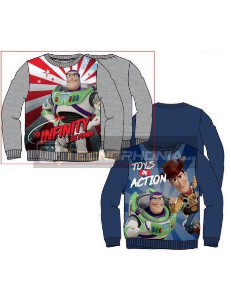 Sudadera Toy Story 4 - Buzz Lightyear 8 años gris