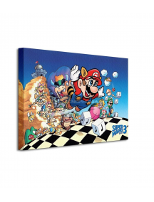 Lienzo Super Mario Bros 3 30x40cm