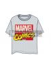 Camiseta adulto manga corta Marvel Comics gris Talla XL