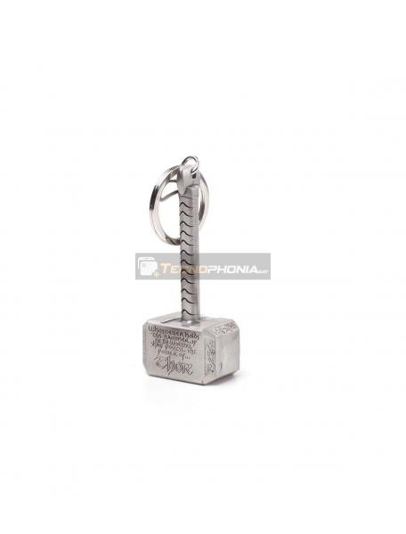 Llavero metálico 3D Avengers - Mjolnir el martillo de Thor