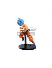 Figura Banpresto Goku Super Saiyan Blue Dragon Ball Super Tag Fighters