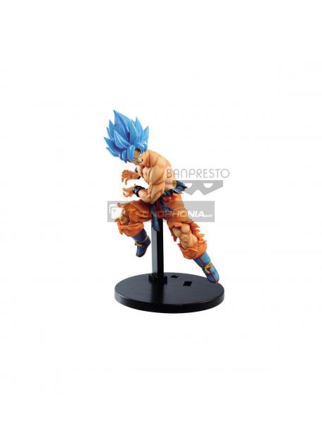 Figura Banpresto Goku Super Saiyan Blue Dragon Ball Super Tag Fighters