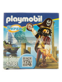 Playmobil - 4798 Pirata Sharkbeard Super 4