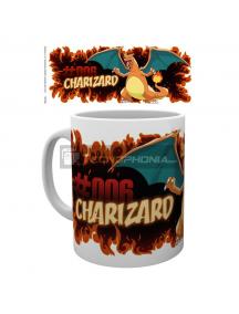 Taza cerámica Charizard Fire Pokemon 325Ml