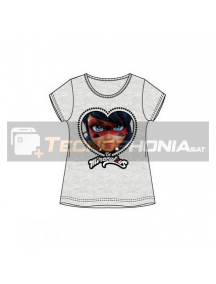 Camiseta niña manga corta Lady Bug - Be Miraculous 4 años