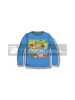 Camiseta infantil manga larga Pokemon azul 6 años