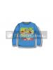 Camiseta infantil manga larga Pokemon azul 8 años
