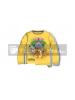 Camiseta infantil manga larga Pokemon - Pikachu amarila 6 años