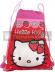 Saco mochila Hello Kity - Fresas 35x27cm