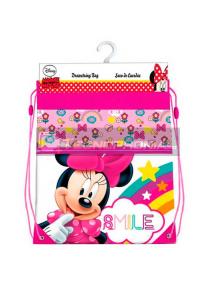 Saco mochila Minnie 42cm
