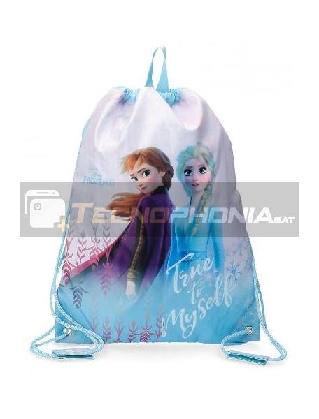 Saco mochila Frozen 2 True To Myself 40x30cm
