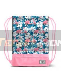 Saco mochila Ohmypop - Pink Scooter 48x35x1cm