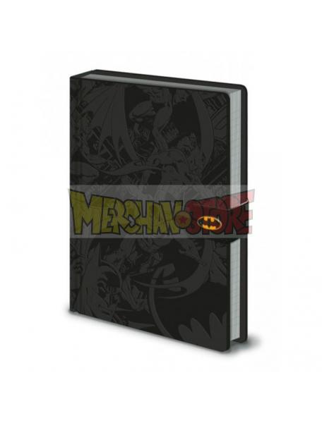 Libreta Premium Batman Montage