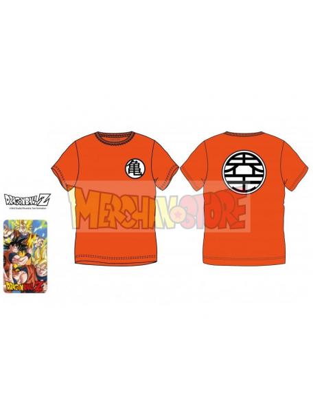 Camiseta Dragon Ball - Symbol naranja Talla S