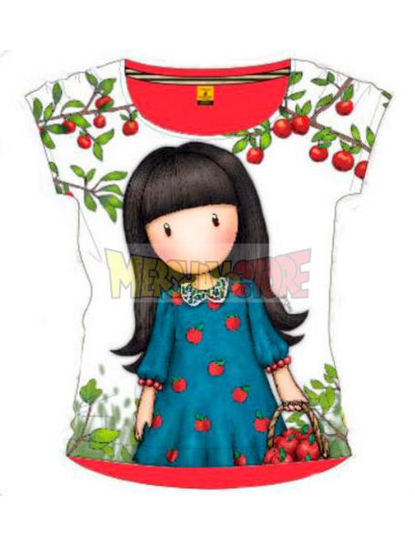 Camiseta niña manga corta Gorjuss - The Blue Dress 6 años