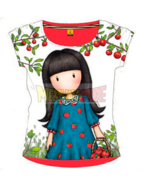 Camiseta niña manga corta Gorjuss - The Blue Dress 8 años