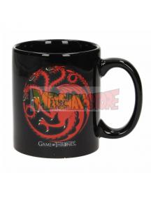 Taza cerámica Juego de Tronos - Fire and Blood Targaryen