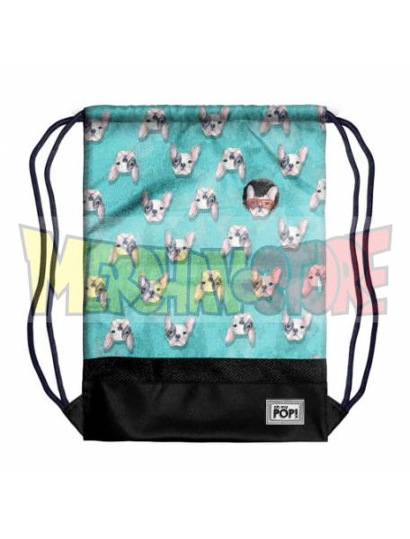 Saco mochila Ohmypop - Doggy 48x35x1cm