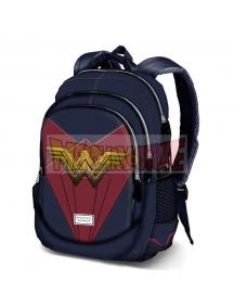 Mochila running Wonder Woman - Emblem 44cm adaptable a carro