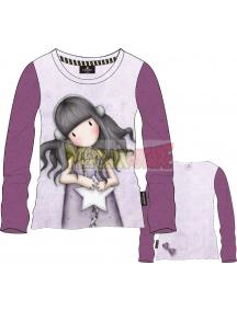 Camiseta manga larga niña Gorjuss - Estrella 10 años