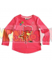 Camiseta niña manga larga PK Masks - Buhita rosa fucsia 5 años