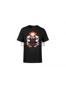 Camiseta Payaso It negra Talla S