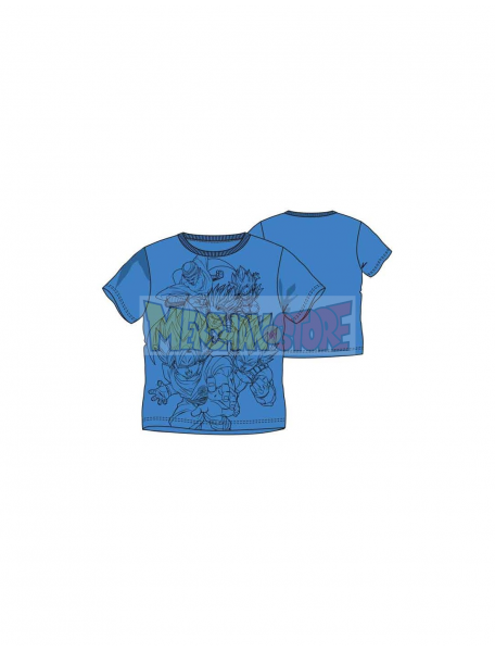 Camiseta niño manga corta Dragon Ball Z azul 10 años