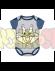 Body bebé Bugs Bunny 6 meses