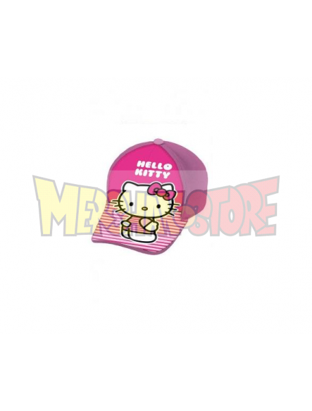 Gorra niña Hello Kitty rosa - lila