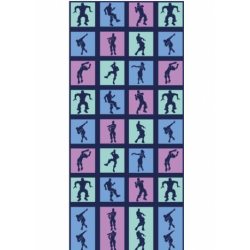 Toalla Fortnite - Bailes algodón