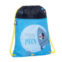 Saco Mickey - Moon 33x44x1cm