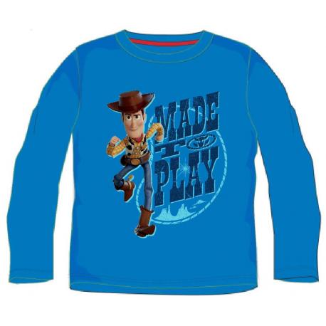 Camiseta niño manga larga Toy Story - Made to Play 4 años azul