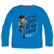 Camiseta niño manga larga Toy Story - Made to Play 7 años azul