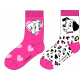 Pack de dos calcetines niña 101 Dálmatas Talla 23-26